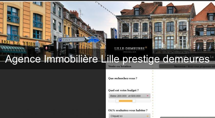 agence immobili re lille prestige demeures lille nord pas calais picardie