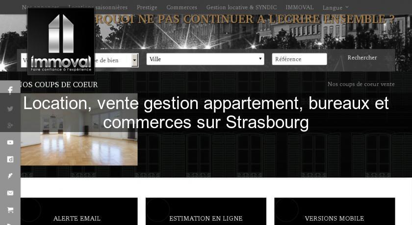 Location vente gestion appartement bureaux et commerces sur