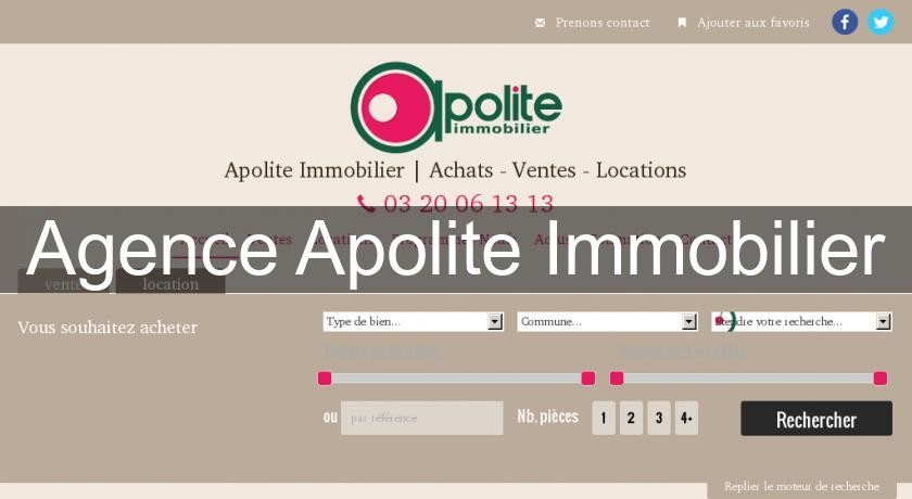 Agence Apolite Immobilier