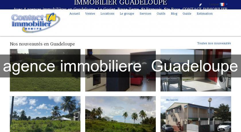 agence immobiliere  Guadeloupe