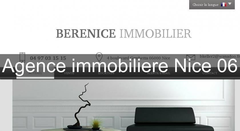 Agence immobiliere Nice 06