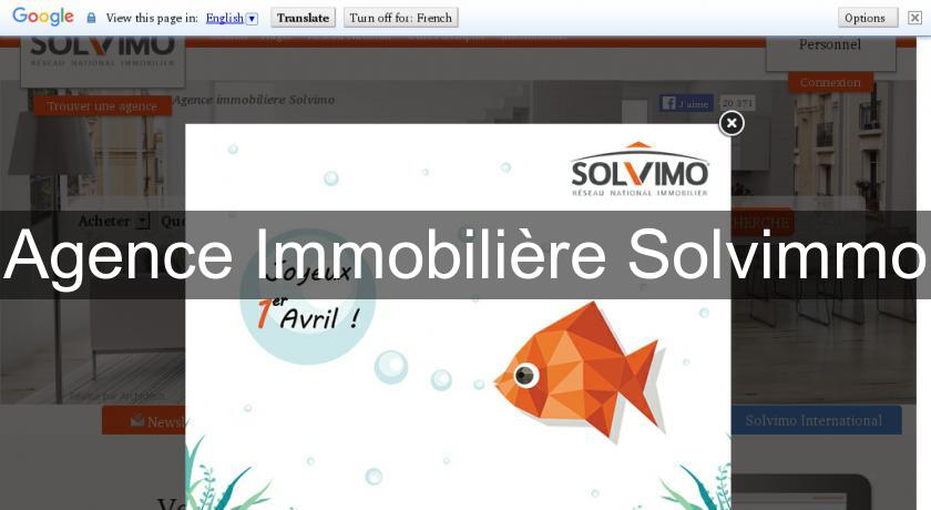 Agence Immobilière Solvimmo
