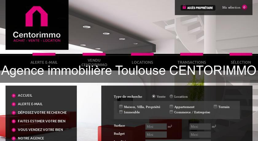 Agence immobilière Toulouse CENTORIMMO