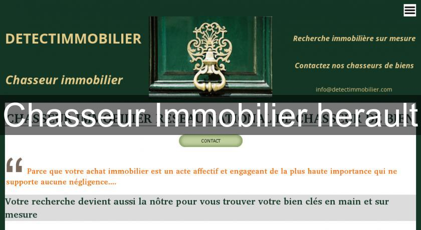 Chasseur Immobilier herault