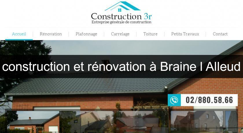 construction et rénovation à Braine l'Alleud