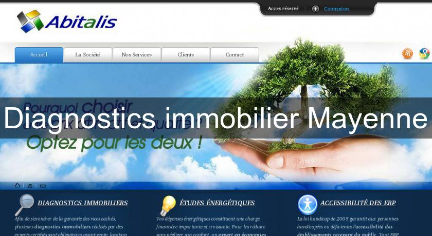 Diagnostics immobilier Mayenne