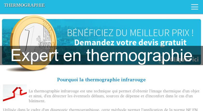Expert en thermographie
