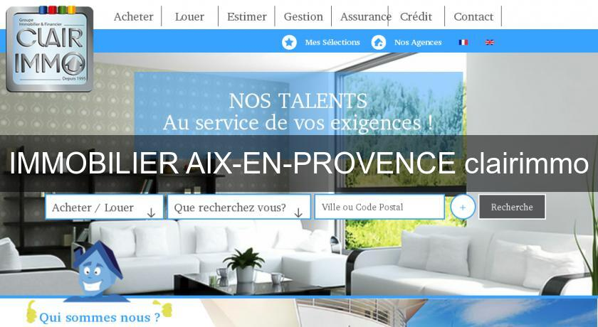 IMMOBILIER AIX-EN-PROVENCE clairimmo