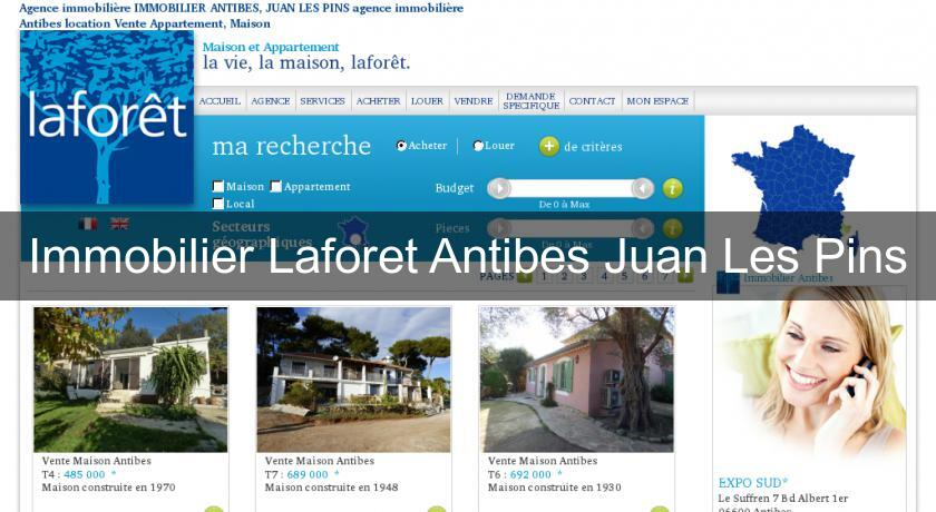 Immobilier Laforet Antibes Juan Les Pins