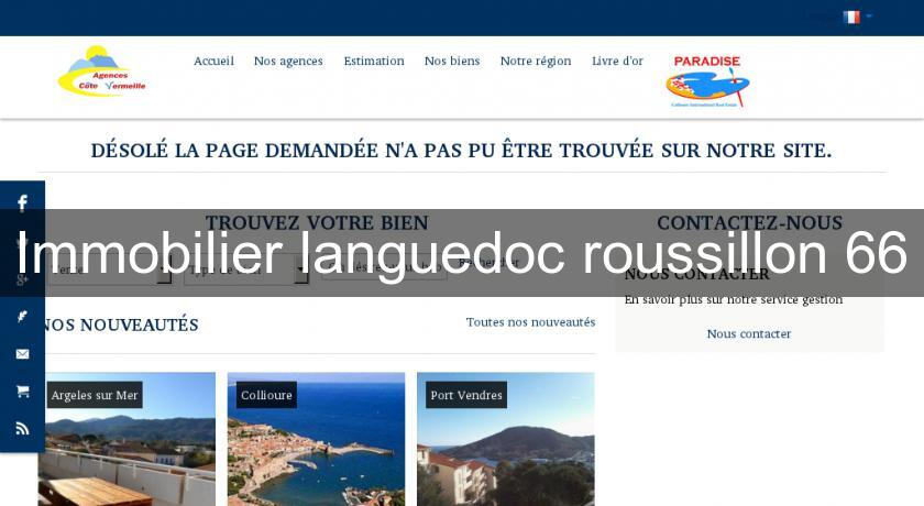 Immobilier languedoc roussillon 66