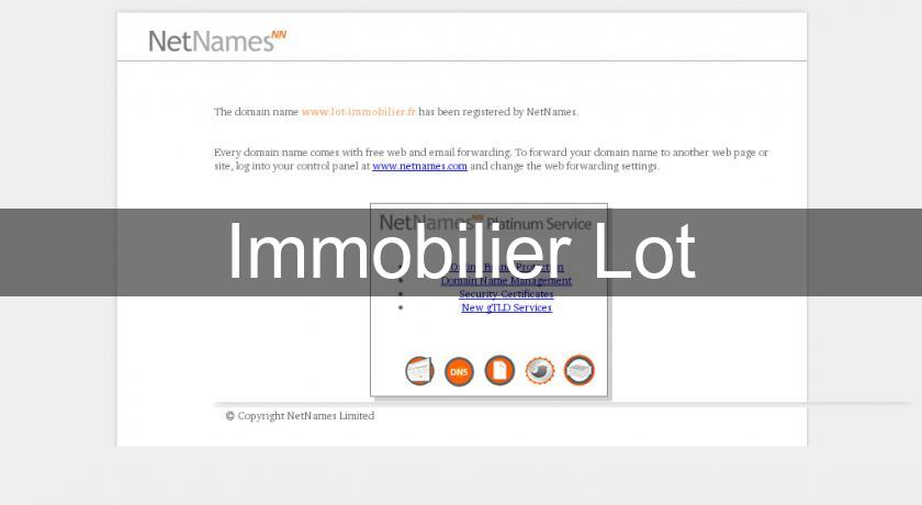 Immobilier Lot