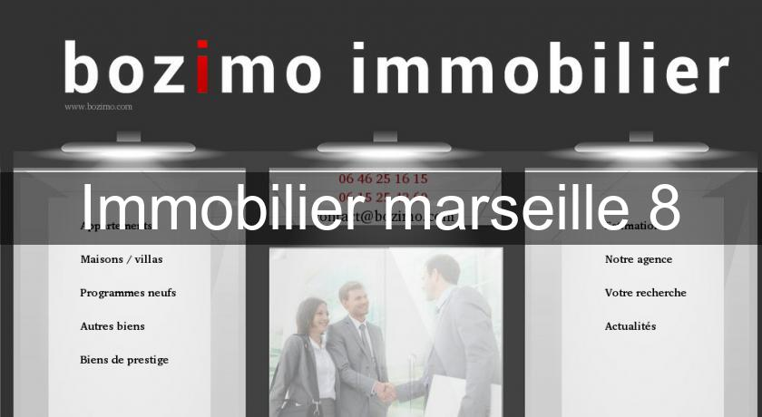 Immobilier marseille 8