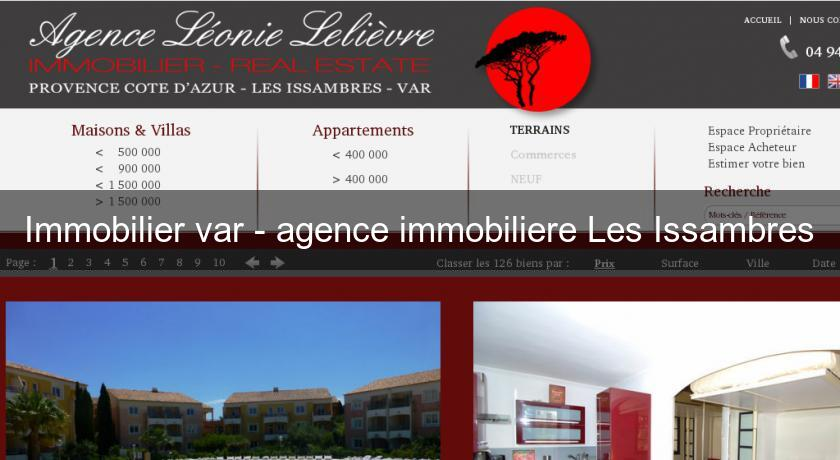 Immobilier var - agence immobiliere Les Issambres