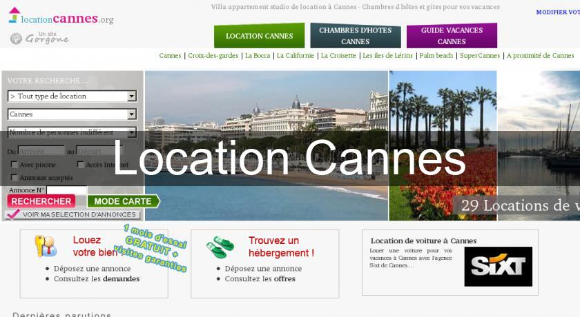 Location Cannes