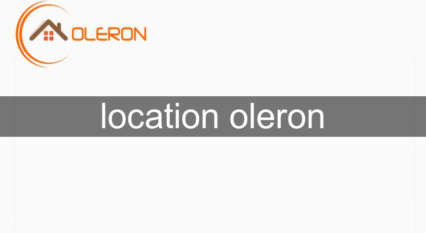 location oleron