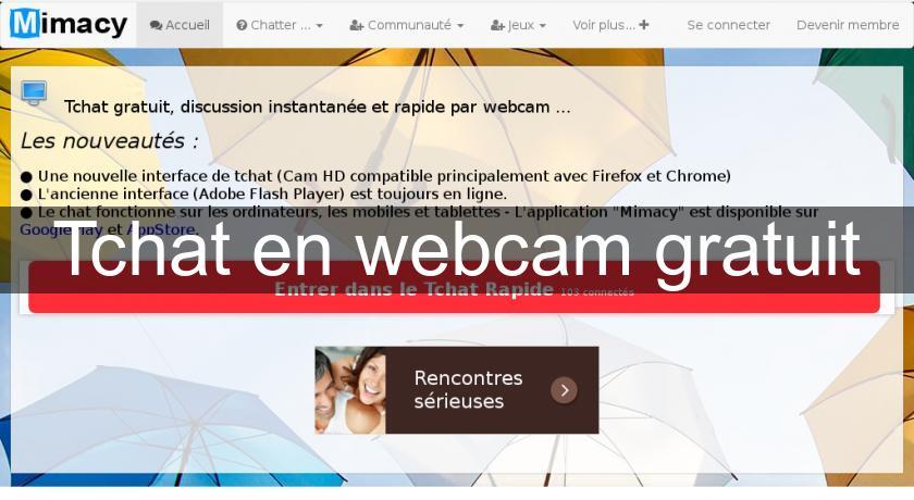 Tchat gratuit webcam