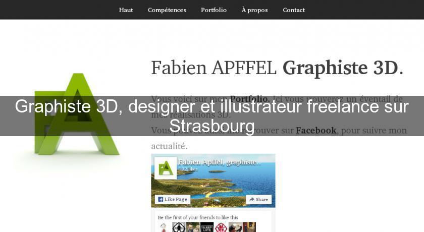 graphiste 3d designer et illustrateur freelance sur strasbourg design. Black Bedroom Furniture Sets. Home Design Ideas