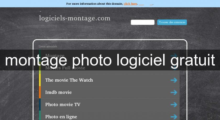 Montage photo logiciel gratuit logiciel photo for Logiciel montage cuisine gratuit