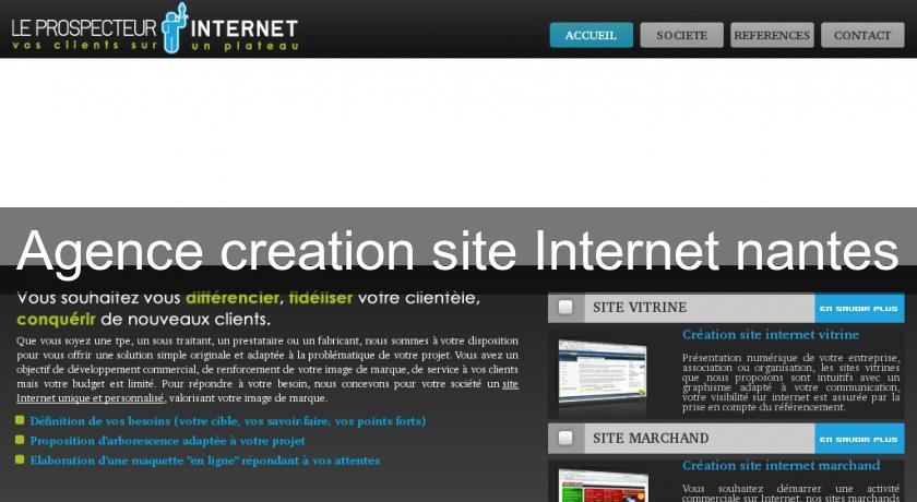 Agence creation site Internet nantes