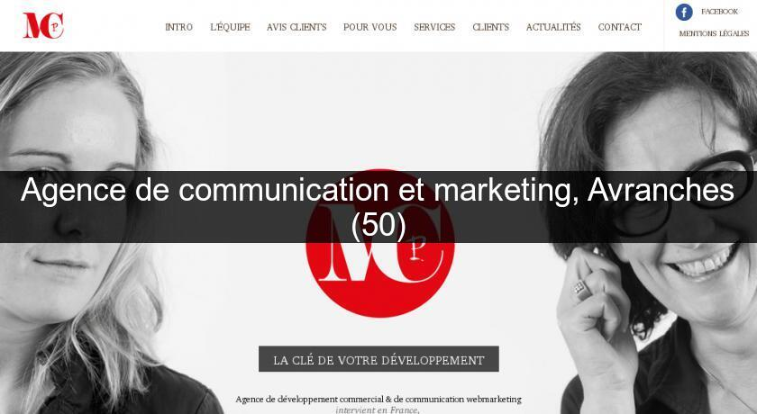 Agence de communication et marketing, Avranches (50)