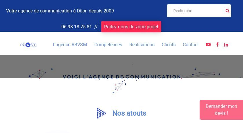 Agence de communication globale - ABVSM Productions