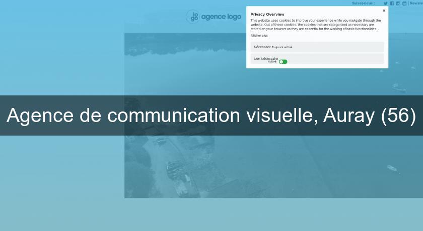 Agence de communication visuelle, Auray (56)