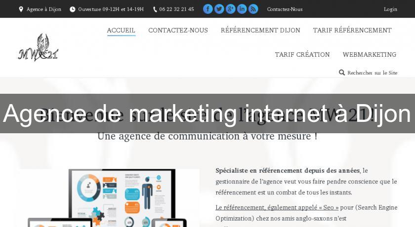 Agence de marketing internet à Dijon