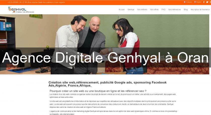 Agence Digitale Genhyal à Oran