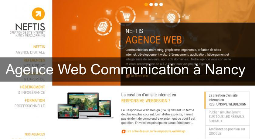 Agence Web Communication à Nancy