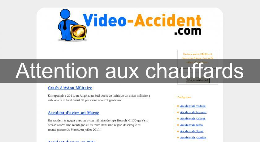 Attention aux chauffards