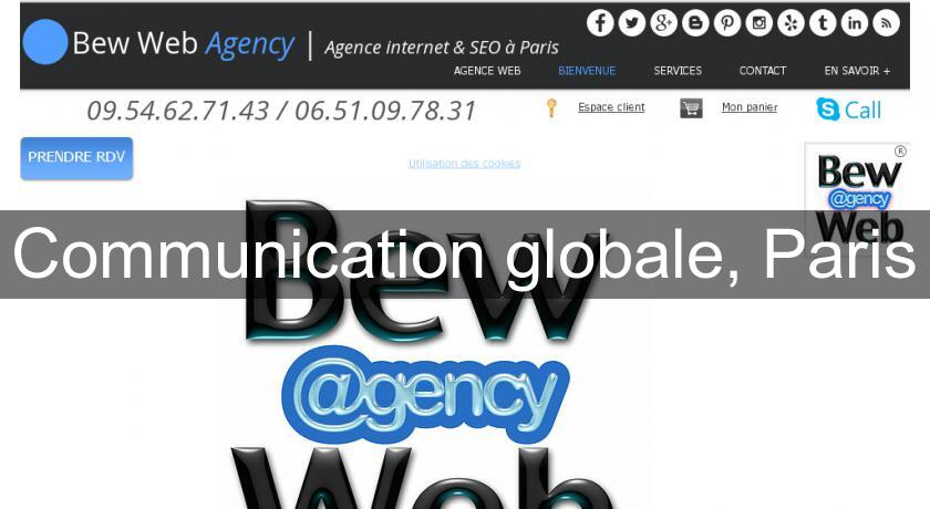Communication globale, Paris