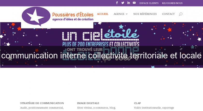 communication interne collectivite territoriale et locale