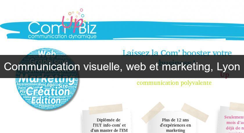 Communication visuelle, web et marketing, Lyon