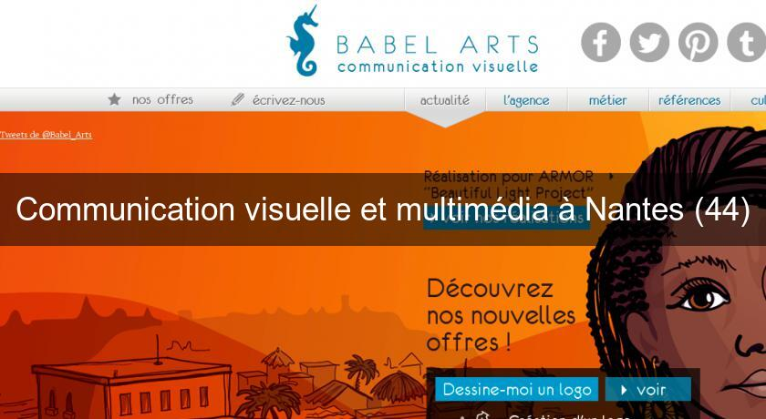 Communication visuelle et multimédia à Nantes (44)