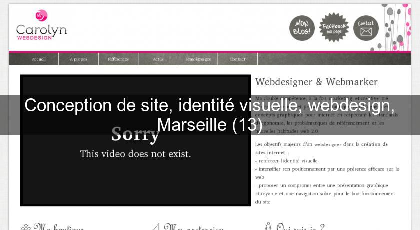 Conception de site, identité visuelle, webdesign, Marseille (13)