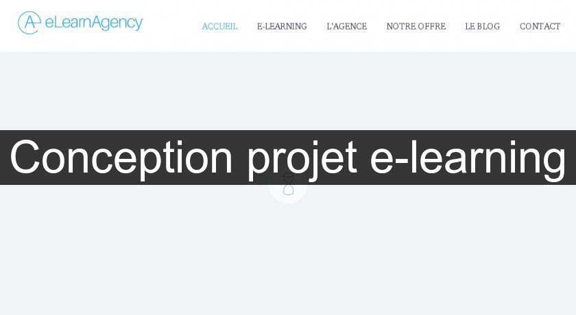Conception projet e-learning