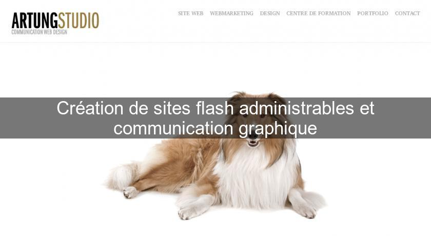 Création de sites flash administrables et communication graphique