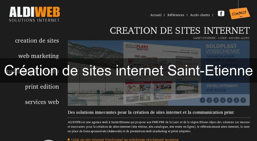 Création de sites internet Saint-Etienne