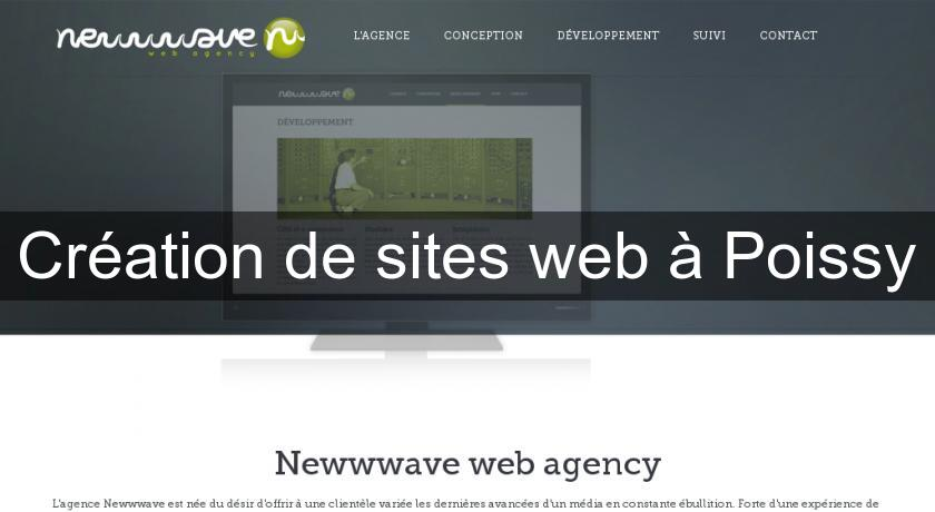 Création de sites web à Poissy