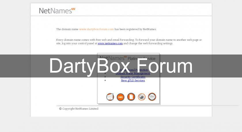 DartyBox Forum