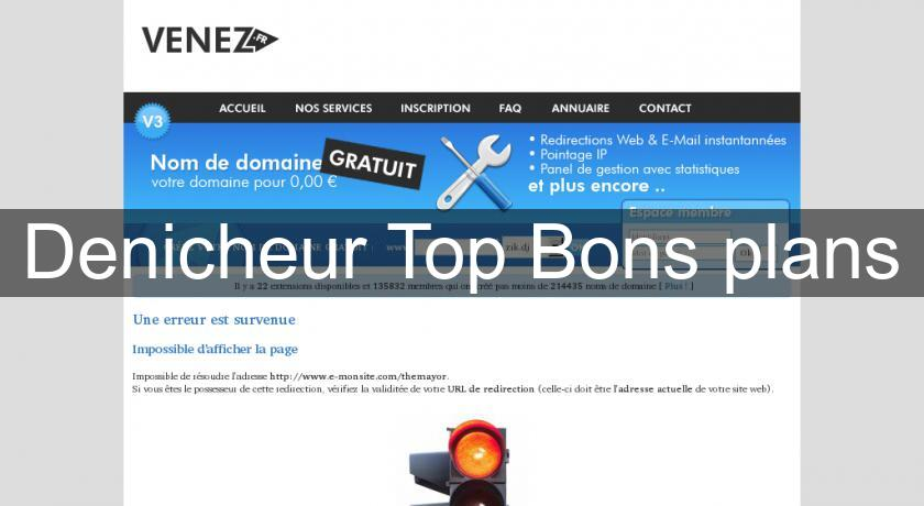 Denicheur Top Bons plans