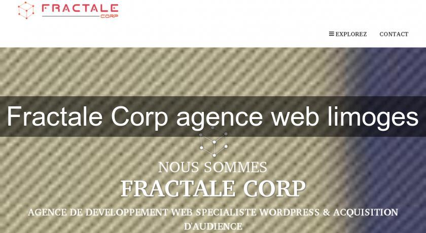 Fractale Corp agence web limoges
