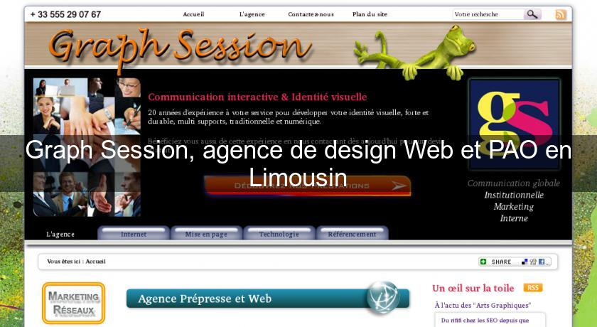Graph Session, agence de design Web et PAO en Limousin