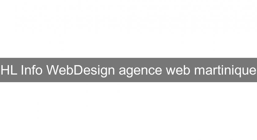 HL Info WebDesign agence web martinique