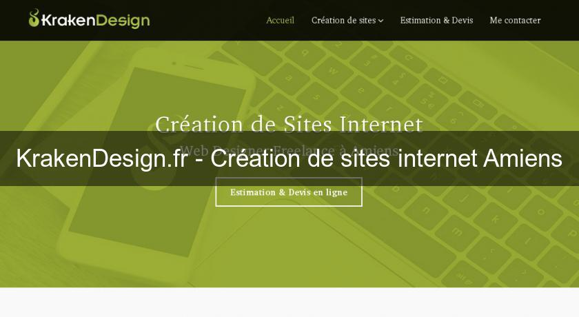 KrakenDesign.fr - Création de sites internet Amiens