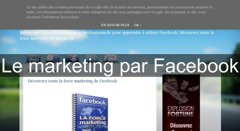 Le marketing par Facebook