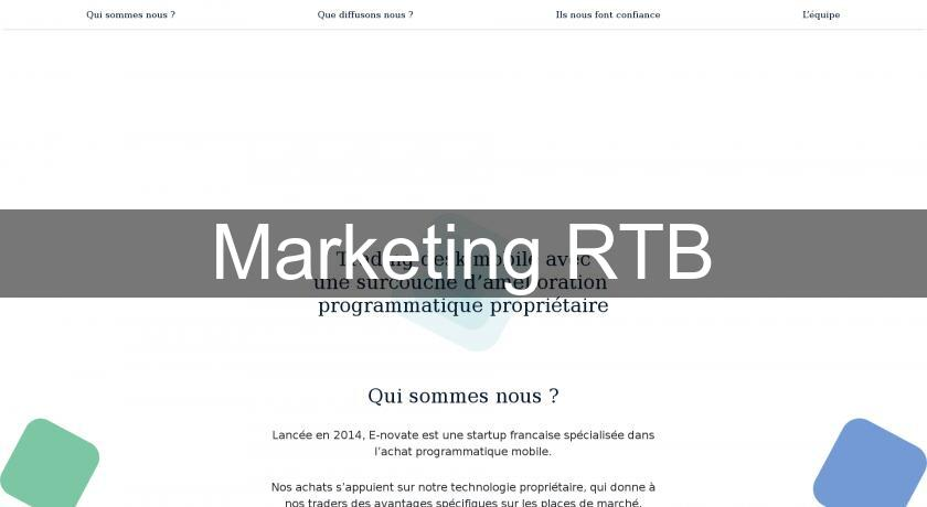 Marketing RTB
