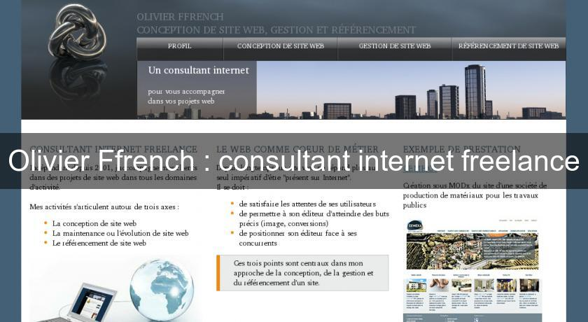 Olivier Ffrench : consultant internet freelance