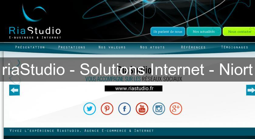 riaStudio - Solutions Internet - Niort