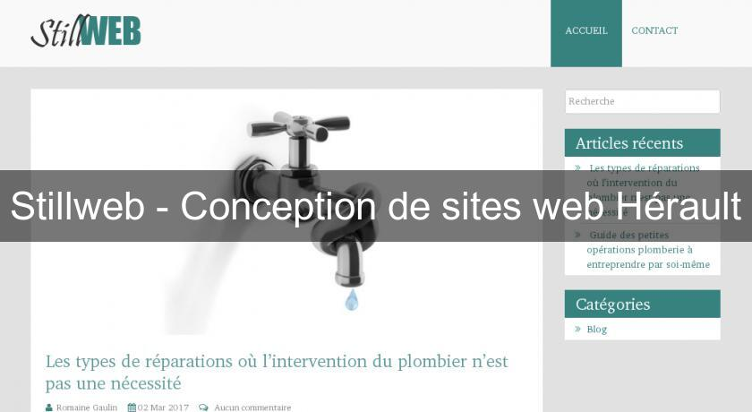 Stillweb - Conception de sites web Hérault